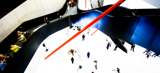 Guided tours of the MAXXI exhibitions and audioguides