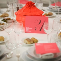 Roma, 29 11 2014 MAXXI. Acquisition Gala Dinner in occasione della mostra ''BELLISSIMA L'Italia dell'alta moda 1945 –1968''. nella foto: allestimenti.©Musacchio & Ianniello