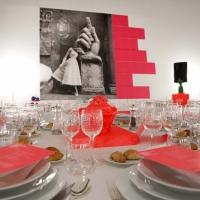 Roma, 29 11 2014 MAXXI. Acquisition Gala Dinner in occasione della mostra ''BELLISSIMA L'Italia dell'alta moda 1945 –1968''. Nella foto:©Musacchio, Ianniello & Napolitano