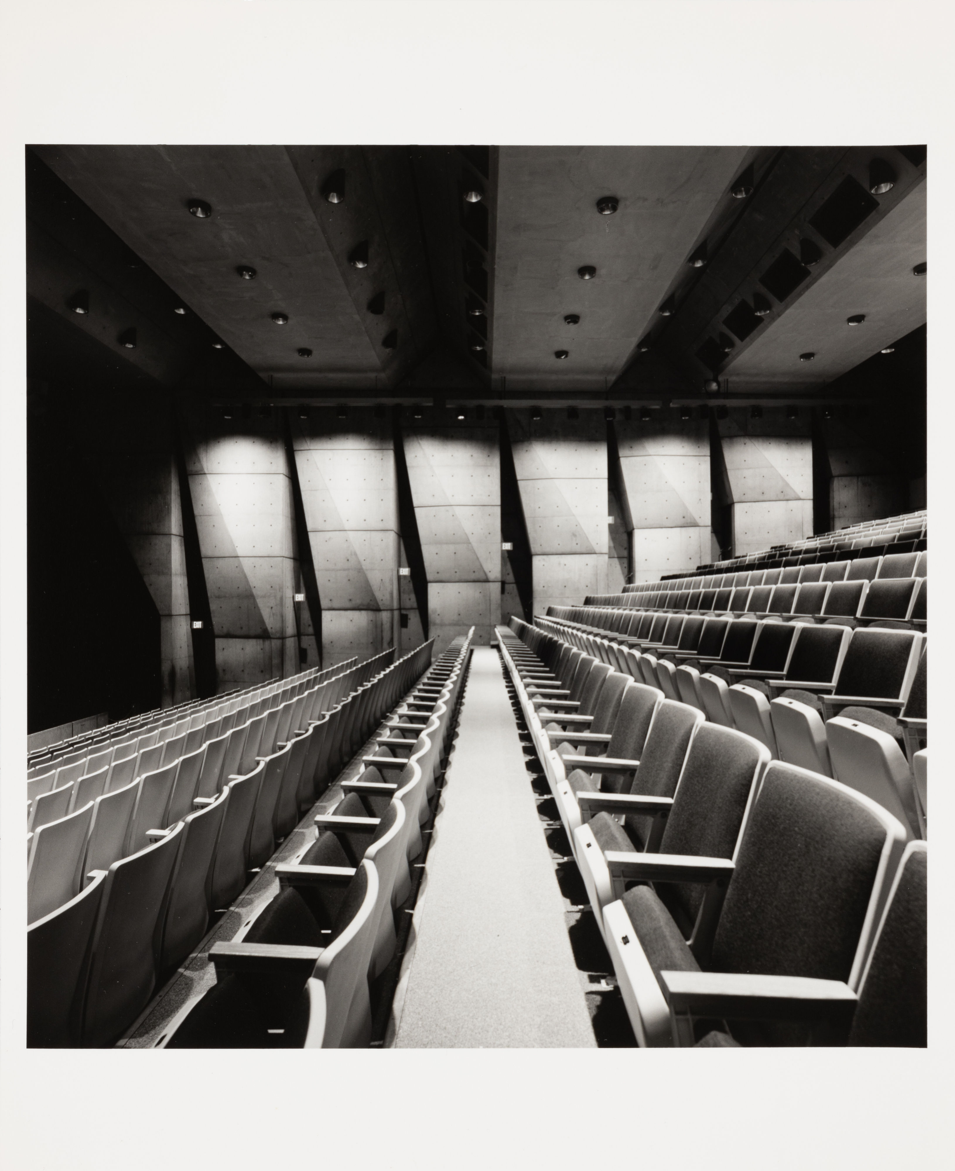 Roberto Schezen, Performing Arts Center, Fort Wayne, Indiana 1961-73, 2001 ca., Courtesy Fondazione MAXXI