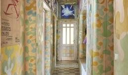 CASA BALLA, Via Oslavia Corridoio / Hallway | Foto M3Studio, Courtesy Fondazione MAXXI © GIACOMO BALLA, by SIAE 2021