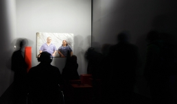 Museo MAXXI, Roma. Mostra César Meneghetti I/O_IO È UN ALTRO. Opera #06, Lovistori, di César Meneghetti, 2015 ©Musacchio & Ianniello