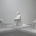 Giulio Paolini, Tre per tre (OGNUNO è L'ALTRO O NESSUNO), 1998 - 1999. MAXXI Museo nazionale delle arti del XXI secolo, Roma. Comodato UniCredit Art Collection. Foto Patrizia Tocci