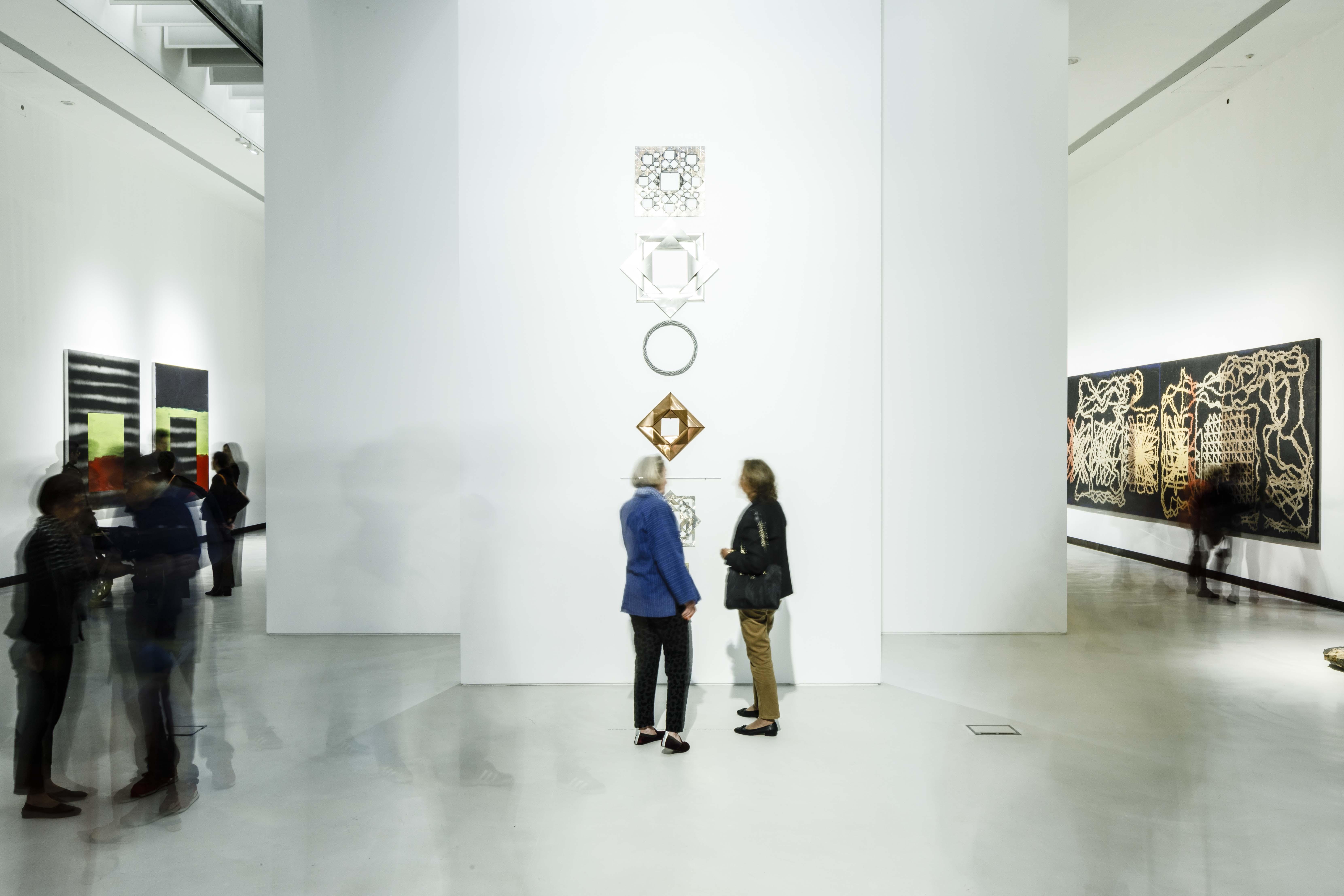 della materia spirituale dell'arte | Photo © Musacchio, Ianniello & Pasqualini, courtesy Fondazione MAXXI