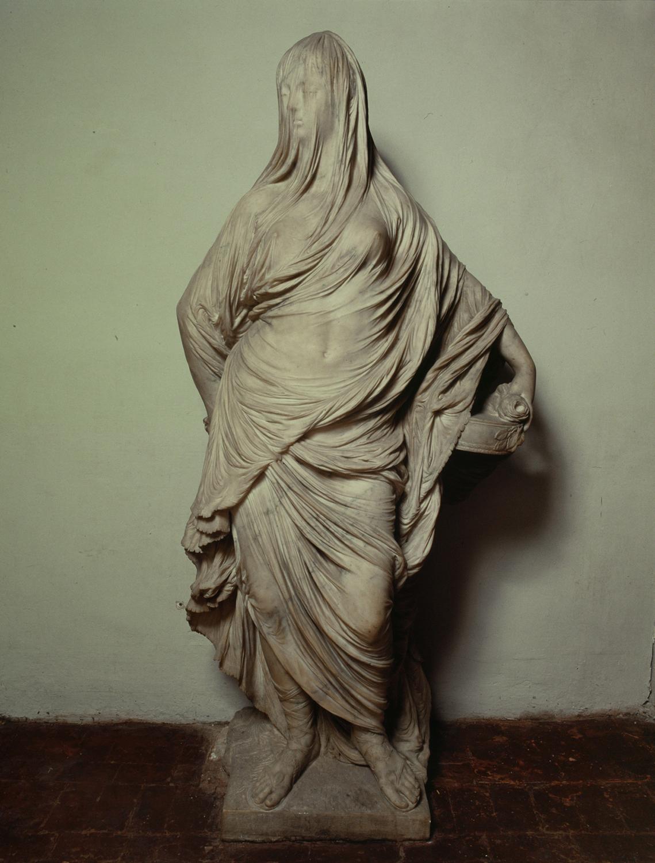 Antonio Corradini, Vestale Tuccia (la Velata), Roma, Gallerie Nazionali Barberini Corsini, inv. 2257