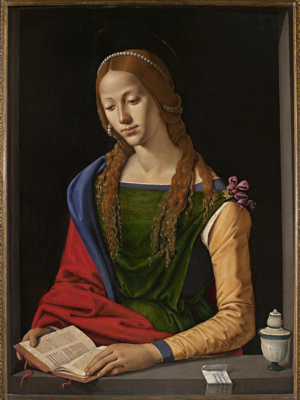 Piero di Cosimo, Maddalena, Roma, Gallerie Nazionali Barberini Corsini, inv. 1486
