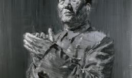 Yan Pei-Ming, Mao, 2005, MAXXI - Museo nazionale delle arti del XXI secolo, Roma, courtesy Fondazione MAXXI