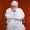 Yan Pei-Ming, Pape, 2005, MAXXI - Museo nazionale delle arti del XXI secolo, Roma, courtesy Fondazione MAXXI