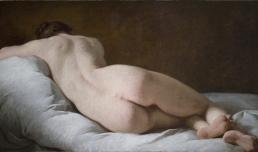 Pierre Subleyras, Nudo femminile di schiena, Roma, Gallerie Nazionali Barberini Corsini, inv. 2529