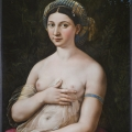 Raffaello Sanzio, La Fornarina, Roma, Gallerie Nazionali Barberini Corsini, inv. 2333