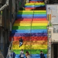 AurelieVaquant_escalier arc-en-ciel