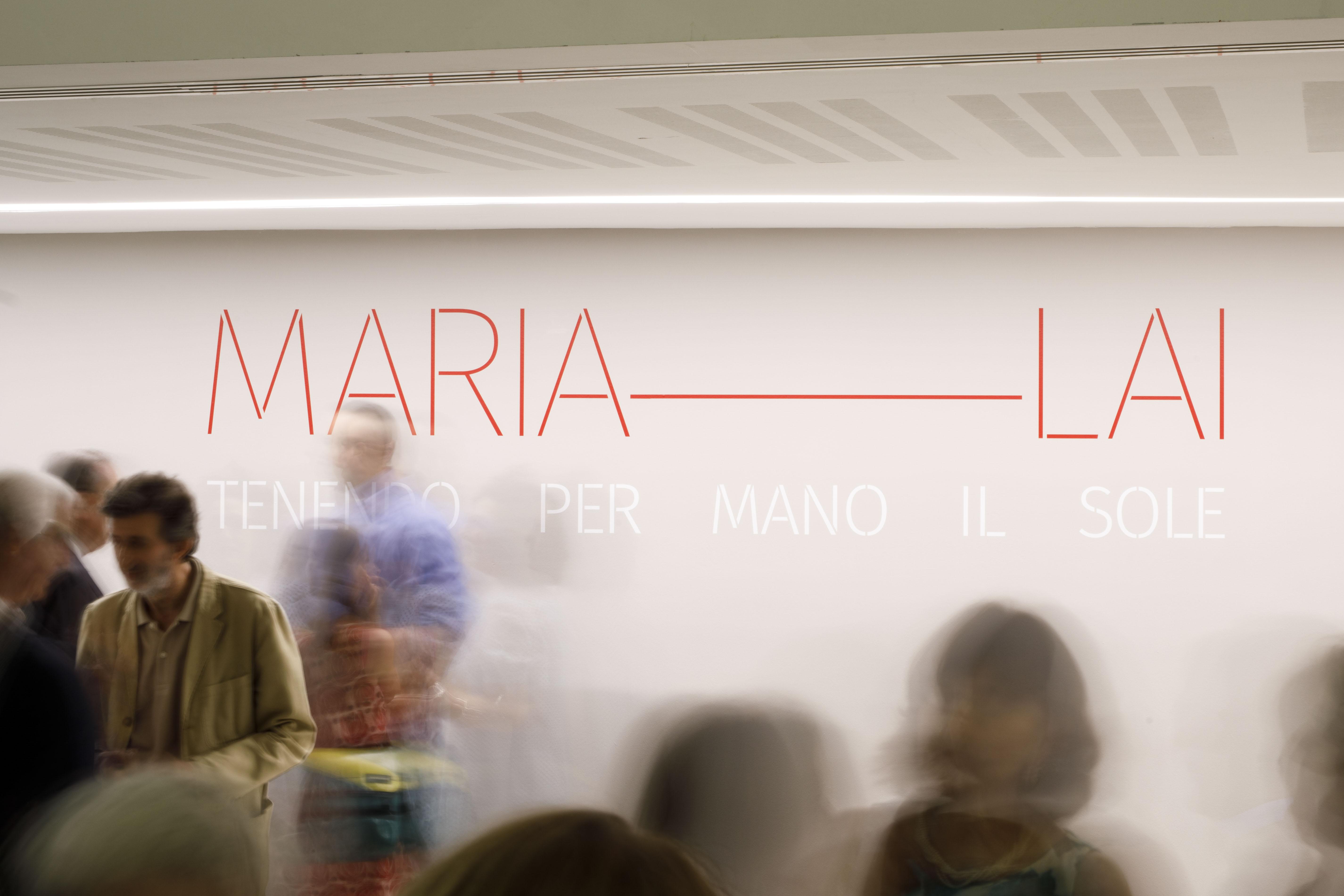 Maria Lai. Tenendo per mano il sole | Photo © Musacchio, Ianniello & Pasqualini, courtesy Fondazione MAXXI