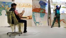 MILTOS MANETAS | Internet Paintings - photo © courtesy Fondazione MAXXI