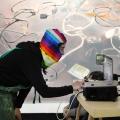 MILTOS MANETAS   Internet Paintings - photo © courtesy Fondazione MAXXI