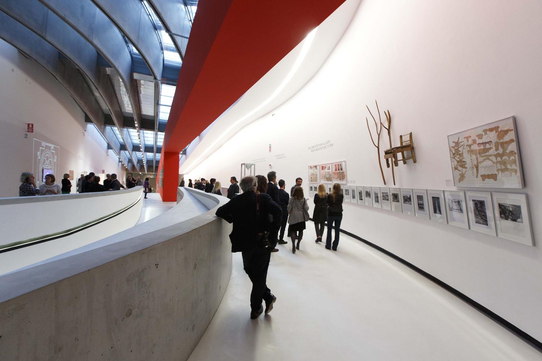 Roma, 20 04 2016 Museo MAXXI. Inaugurazione della mostra SUPERSTUDIO 50. ©Musacchio & Ianniello******************************************************NB la presente foto puo' essere utilizzata esclusivamente per l' avvenimento in oggetto, per una ripresa dello stesso o comunque per pubblicazioni riguardanti la Fondazione MAXXI********************************************************