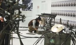 Roma, Museo MAXXI, mostra Transformers. Pedro Reyes, Disarm (Mechanized), 2013. Photo ©Musacchio & Ianniello