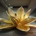Roma, Museo MAXXI, mostra Transformers. Choi Jeong-Hwa, Golden Lotus, 2015. Photo ©Musacchio & Ianniello