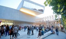 YAP Young Architects Program 2014. Installazione 8 e 1/2 dello Studio Orizzontale. Foto Musacchio & Ianniello