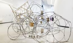 YONA FRIEDMAN. Mobile Architecture, People's Architecture - photo Musacchio&Ianniello, courtesy Fondazione MAXXI