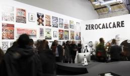 Zerocalcare. Scavare fossati · Nutrire coccodrilli, photo Musacchio, Ianniello & Pasqualini, courtesy Fondazione MAXXI
